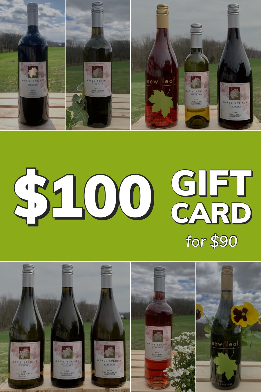 Product Image for Gift Card - $100