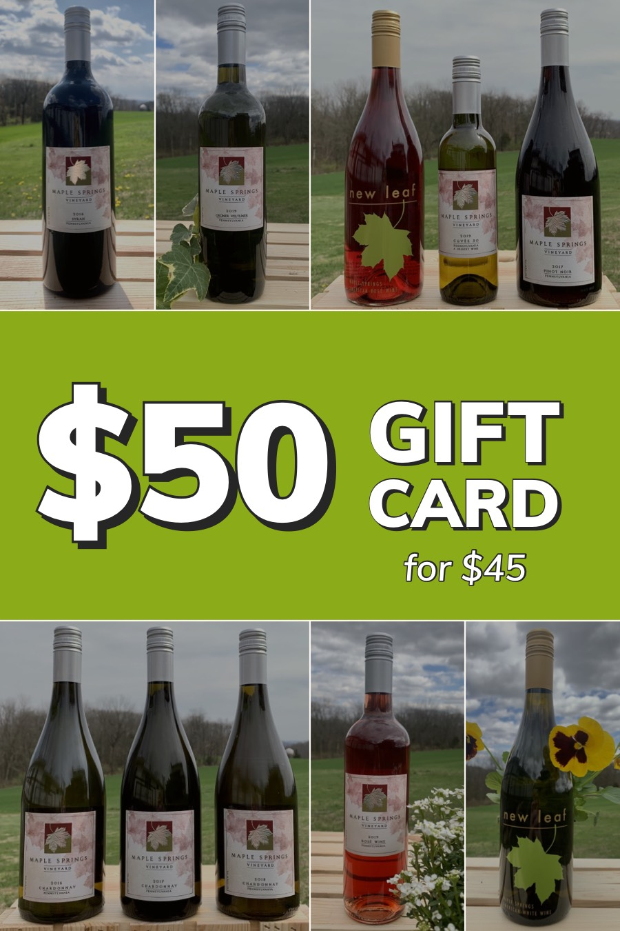 Product Image for Gift Card - $50